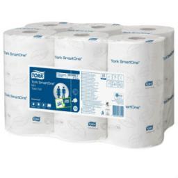 Tork SmartOne туалетная бумага в мини рулонах