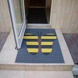 Грязезащитные покрытия из алюминиевого профиля с логотипом