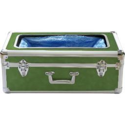 Аппарат для надевания бахил зелёный