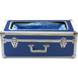 Аппарат для надевания бахил синий