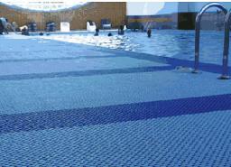 Модульное противоскользящее покрытие для бассейнов и саун Lagune
