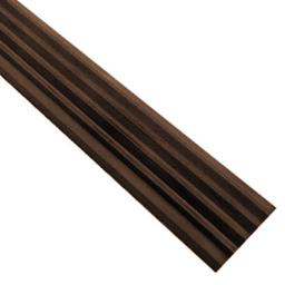 Самоклеящаяся противоскользящая накладка на ступени коричневая