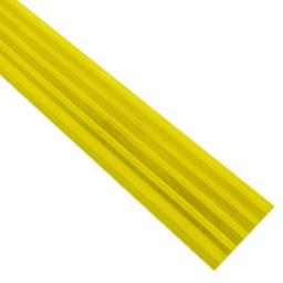 Самоклеящаяся противоскользящая накладка на ступени желтая