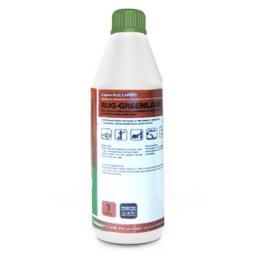 Профессиональное моющее средство RUG-GREENLANE для чистки сильнозагрязненных ковровых покрытий и протоптанных дорожек
