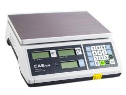 Торговые весы cas er-jr-15cb
