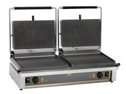 Контактный гриль roller grill panini dm 2х3квт(2 шнура)