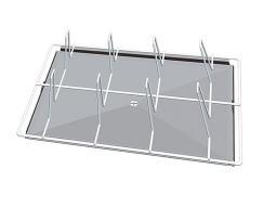 Unox s.p.a. решетка grp430 (600х400) для теплового оборудования т.м. unox