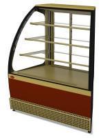 Витрина холодильная veneto vs-un, (угол наружный), раздвижная дверь