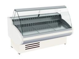 Витрина холодильная cryspi gamma-2 1200 (впс 0,50-0,85) цвет 9010 (белый)