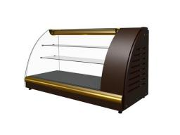 Холодильная витрина полюс вхс-1,2 арго xl (brown&gold)