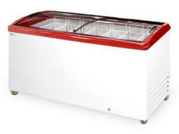 Морозильный ларь italfrost сf 600 c (красный)