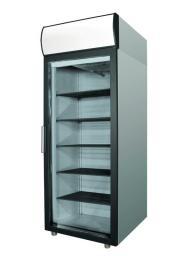 Холодильный шкаф polair dm105-g (шх-0,5 дс) нерж.