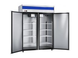 Холодильный шкаф abat шхс-1,4-01 нерж.