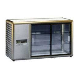 Витрина холодильная orizont 200 q бронз.