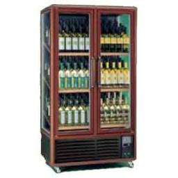 Шкаф винный вент.метал. enotec 680 1tv темн.орех
