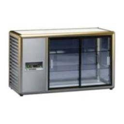 Витрина холодильная orizont 200 q серебр.