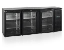 Шкаф холодильный со стеклом tefcold cbc310g-p