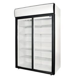 Шкаф холод.со стеклом polair dm110sd-s