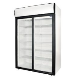 Шкаф холод.со стеклом polair dm114sd-s