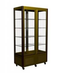 Шкаф-витрина кондитерский kayman к-шв-800 люкс