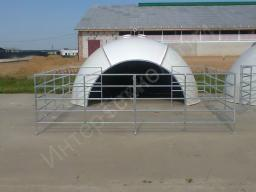 Бокс-купол стеклопластиковый