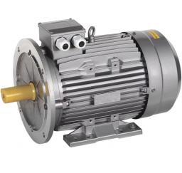 Электродвигатель асинхронный 3ф. 0,55кВт 3000об/мин 63B2 380В (лапы+фланец)