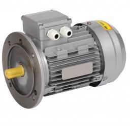 Электродвигатель асинхронный 3ф. 0,12кВт 1500об/мин 56A4 380В (фланец) АИР
