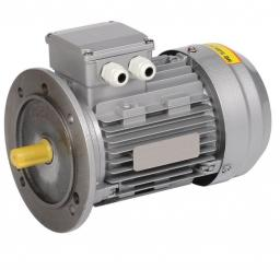 Электродвигатель асинхронный 3ф. 1,1кВт 1500об/мин 80A4 380В (фланец) АИР