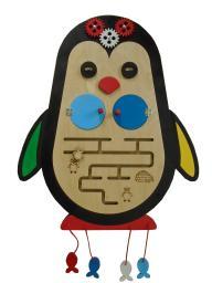 Бизиборд «Пингвин»