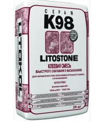 Быстротвердеющая клеевая смесь LITOSTONE K98