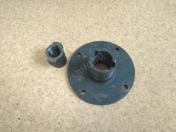 Привод гидромотора щётки