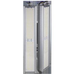 Уличный консольный светодиодный светильник три модуля под углом 372Вт 4000К IP67 52080Лм (VRN-UNE-372T-G40K67-K90)