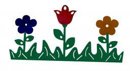 Декоративный элемент «Цветочная поляна»