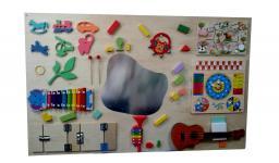 Тактильная панель с музыкальными инструментами