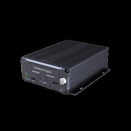 PTX-ВИЗИР2-4H1 Автомобильный четырехканальный встраиваемый AHD видеорегистратор с поддержкой HDD или карты памяти SD