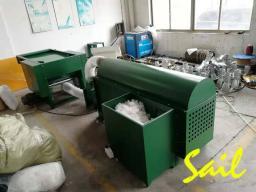 Шарикоформовочная машина для производства наполнителей подушек и одеял
