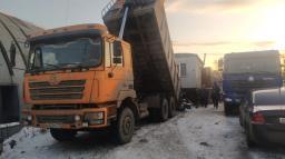 Shacman вывоз строительного мусора