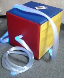 «Кубик» пучок фиброоптический с двумя пучками
