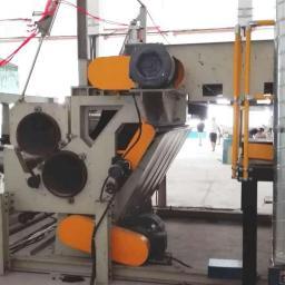Аэродинамическая линия для производства отходного войлока