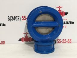 Клапан обратный двухдисковый WCV, Ру16 100