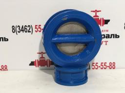 Клапан обратный двухдисковый WCV, Ру16 Ду 80