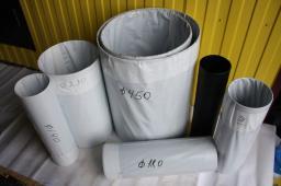 Муфта терма, терма-лента 450*2.0, компоненты ППУ, Терма ЛКА 450*100 д=89/180 мм