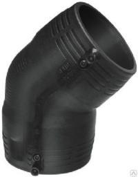 Отвод электросварной ПЭ100 SDR11 160 мм угол 90 гр.