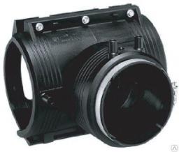 Седелочный отвод ПЭ100 SDR11 200х125 мм