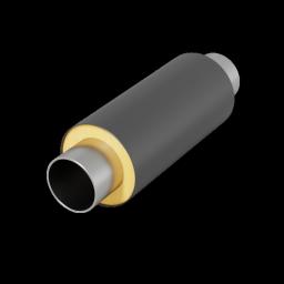 Стальная труба в ППУ изоляции в ПЭ оболочке д=273х8,0/400 мм