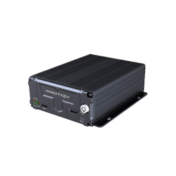 PTX-ВИЗИР2-4N Автомобильный четырехканальный встраиваемый AHD видеорегистратор с поддержкой HDD или карты памяти SD