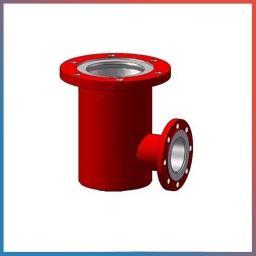 Пожарная подставка стальная фланцевая ППФ, Ду-200