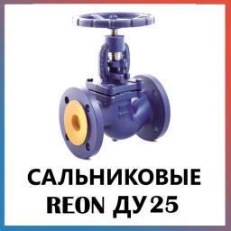 Вентиль запорный фланцевый с сальниковым уплотнением Ду25 REON
