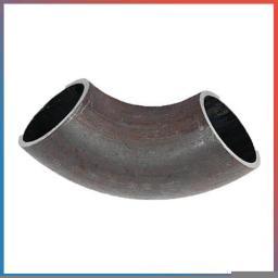 Отвод 90 стальной Дн 820х14 размеры по ГОСТ 30753