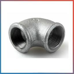 Угольник чугунный оцинкованный муфта-штуцер Ду 25 (1